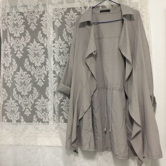 Zanzea waterfall coat