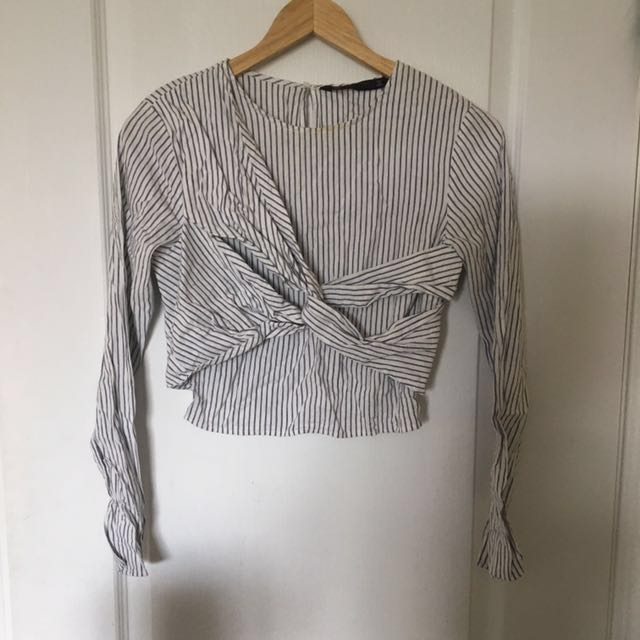 Zara strip top