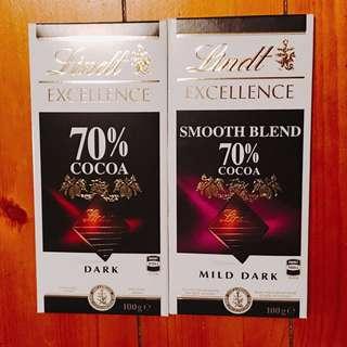 Lindt 瑞士蓮 黑巧克力 100g(2018/1/8出貨)
