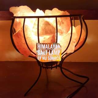 Hinalayan salt lamp basket