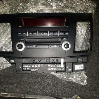 Lancer EX radio panel