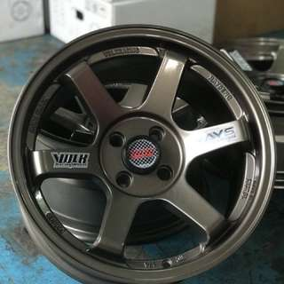 Te37 16 inch sports rim vios , life only offer you one chance.. go grab it faster brother or, u I'll regret!!