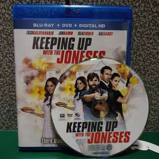Brand New USA Original DVD Disc Only. Keeping Up With The Joneses