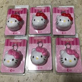 Hello kitty ez link plush charm