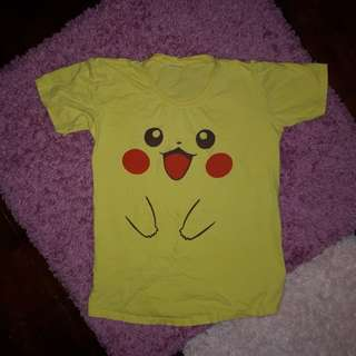 Pikachu (pokemon) shirt