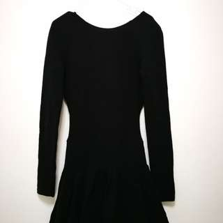 Sexy back Cotton Dress