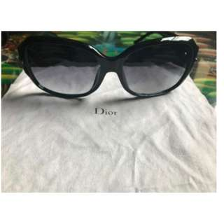 Christian Lady Dior Patterned Frame Sunglasses
