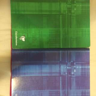 Clairefontaine notebooks (thick)