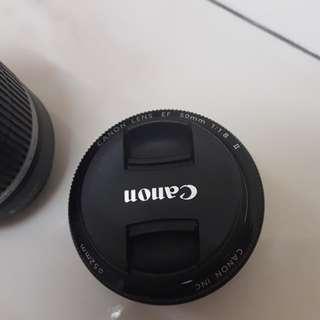 EF lens 50mm