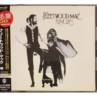 Japan SHM CD Fleetwood Mac Rumours Limited Edition OOP