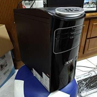 高雄 ACER電腦 T3-100 強效四核心APU A8-5500 顯示晶片HD7560 USB 3.0 HDMI Win10 遊戲影音電腦