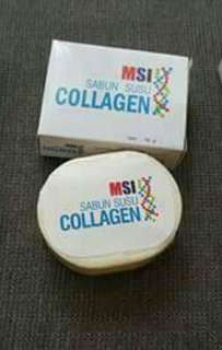 Sabun susu collagen