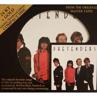 24K Gold USA Audio Fidelity The Pretenders Limited Edition S/N 3215