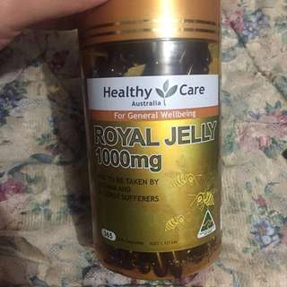 Healthy care royal jelly from Australia
