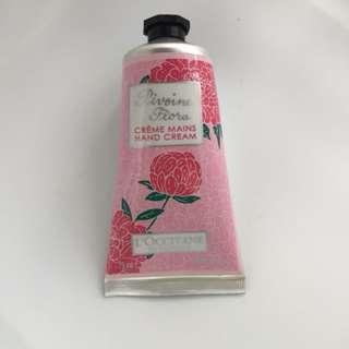 L'Occitane Flora Hand Cream 2.6 oz
