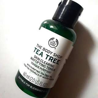 The Body Shop - Tea Tree Skin Clearing Mattifying Toner 60 ml