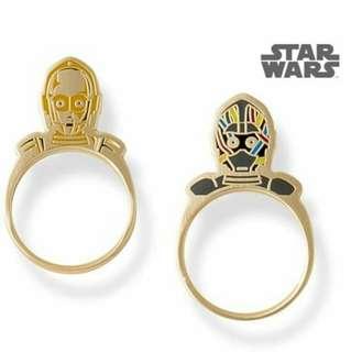 $369 日本直送 Little raymond star wars ring 星球大戰 戒子 戒指 c3po