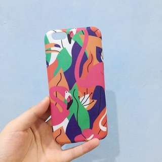soft case flamingo iphone 6