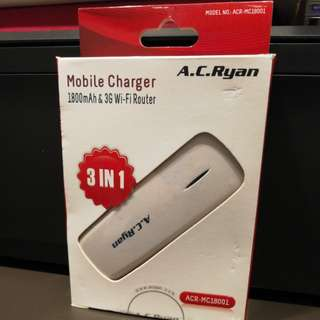 AC Ryan 3in1 mobile charger router