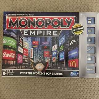 Monopoly family board game