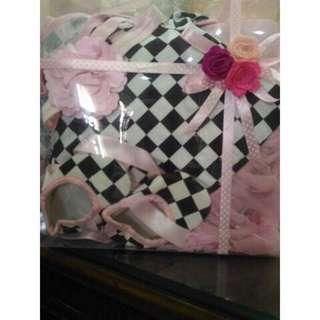Baby tutu gift set hamper for baby gitl