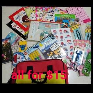 Stationary books / toys girl boy / On Sale / Clearance