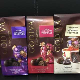 GODIVA chocolate 19pc each