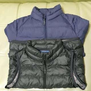 Uniqlo童外套+背心*2