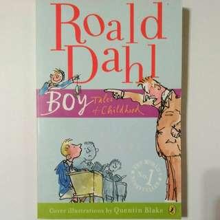 BOY Tales of Childhood - Roald Dahl