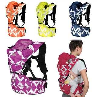 Waterproof baby adjustable backpack carrier waist stool detachable