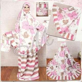 43-Mukena Asifa pink