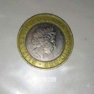 英國硬幣£2