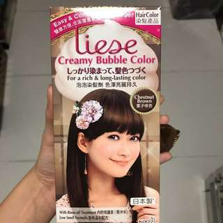 Liese Hair Dye (chestnut brown)