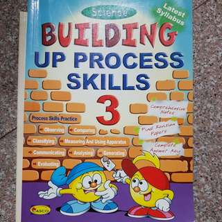 Primary 3 Science building up process skills