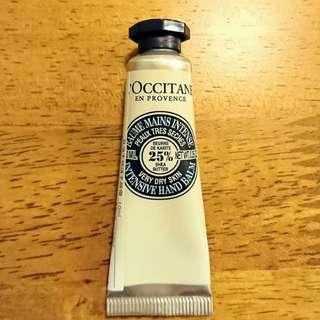L'OCCITANE 歐舒丹乳油木修護手膜霜10ml