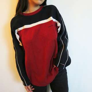 Racing vibe pull over sweater