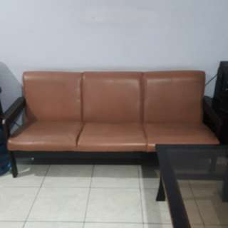 Set sofa 3-1-1 seater