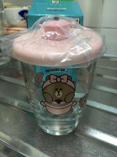 711 line bear glass
