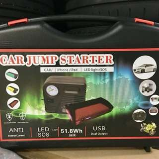 Mobile Tyre Pressure Inflator and Jumpstarter **BRAND NEW**