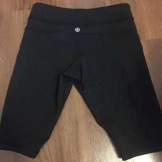Lululemon biking shorts