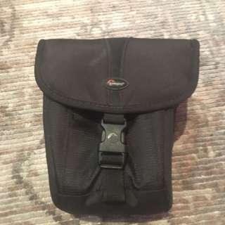Black Lowpro camera bag