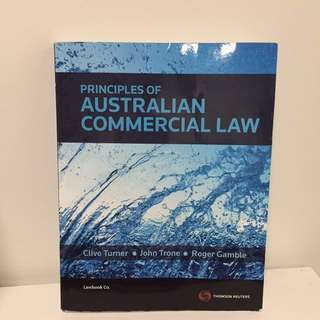 AUSTRALIAN COMMERCIAL LAW for deakin college or uni or other uni