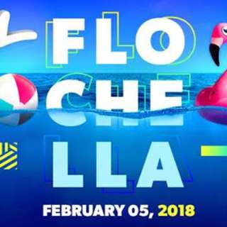 FLOCHELLA TICKET X1