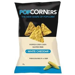 《POPCORNERS》美國爆米客玉米片(白起達起司)142g