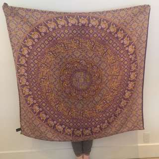 Urban outfitters large magical thinking elephant and camel print cotton wall tapestry blanket throw scarf