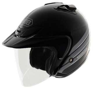 Shoei JF2 Honda Black