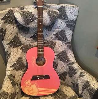 Kids Pink Guitar