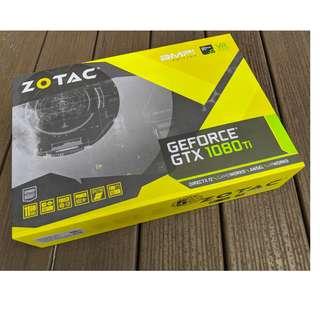 ZOTAC GeForce ® GTX 1080 Ti AMP Edition 11GB GDDR5X 5 Year Warranty Local Set