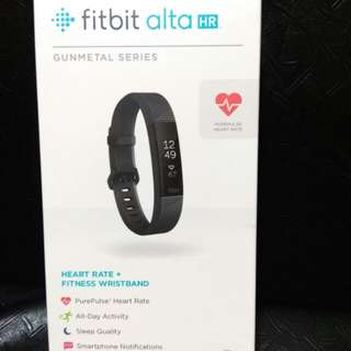Fitbit Alta HR Gunmetal and Rose gold series