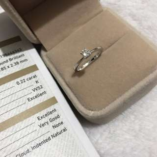 Solitaire 4 prong 14k white gold diamond engagement ring sale-sale-sale